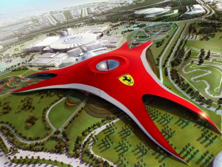 Ferrari World, инновации и адреналин в Абу-Даби
