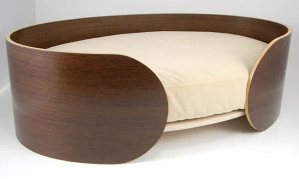 Кровать для собаки из фанеры