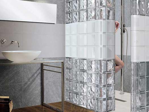 стеклоблоки в интерьере квартиры оригинальные идеи для