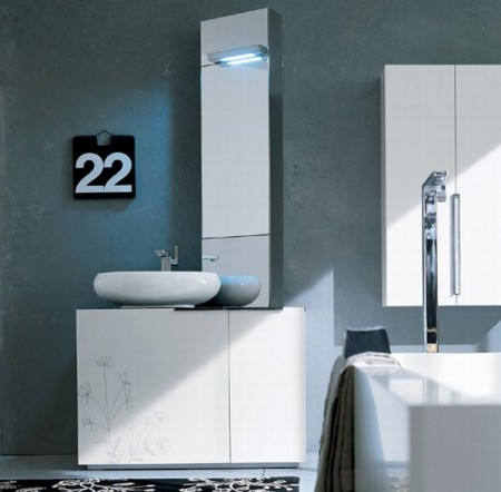 Дизайн интерьера ванной комнаты. Фото 1