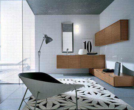 Дизайн интерьера ванной комнаты от Cerasa