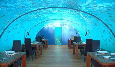 Первый в мире подводный ресторан Жемчужина