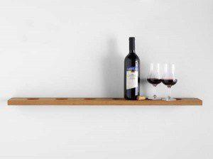 Сложите свои бутылки с вином со стилем. Фото 2