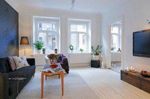Современный дизайн квартиры в Linn Staden