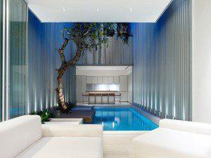 Современный дом в Сингапуре от Онг и Онг