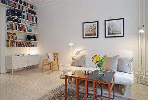 Современный интерьер квартиры в Швейцарии