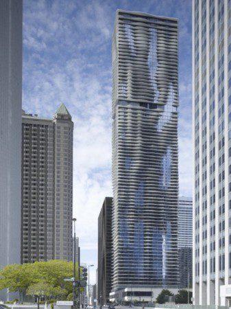 250 метровая Башня воды в Чикаго