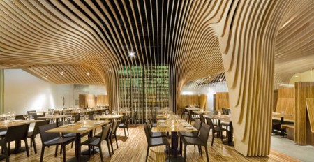 Дизайн интерьера ресторана: удивительный ресторан в Бостоне