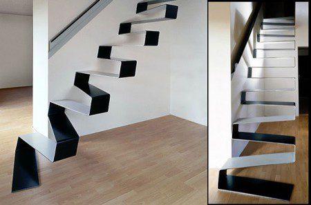 Металлические лестницы: красивые или опасны?