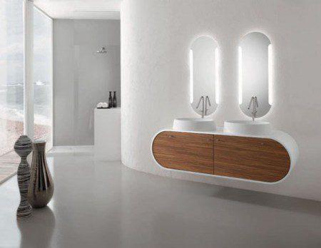 мебель для ванной дерево