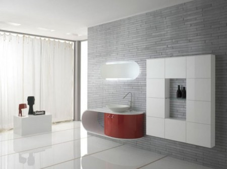 Мебель для ванной комнаты: простота, цвет и стиль