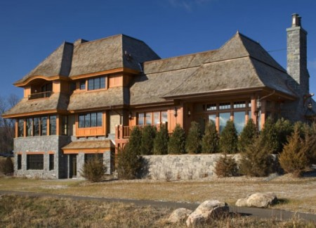 загородный дом, фото