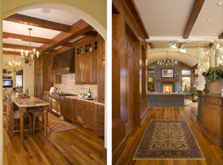фото кухни в доме, дизайн кухни в современном доме