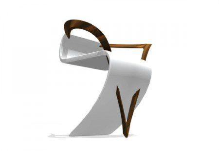 Творческий и необычный дизайн стула