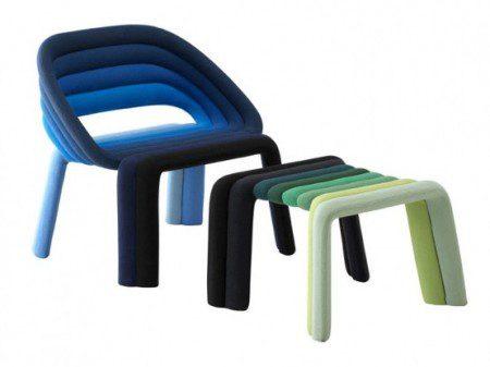 Яркие стулья от Casamania, мебель стулья
