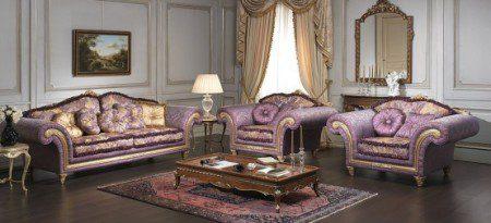 Классические диваны и кресла