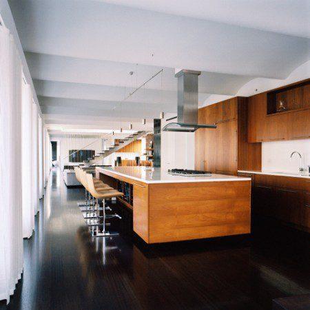 Современный интерьер квартиры в Нью-Йорке