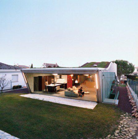 Био вилла - современный дом с гидропонным садом на крыше