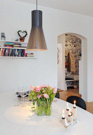 дизайн квартир с камином