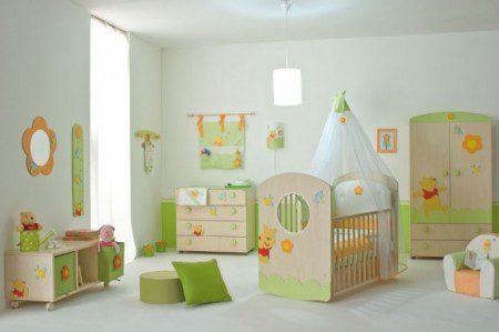 Маленькие детские комнаты от Winnie the Pooh