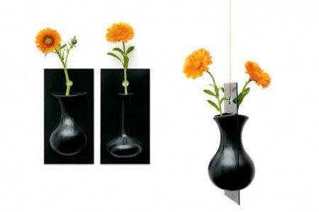 Настенные цветочные вазы от Эрнеста Перера