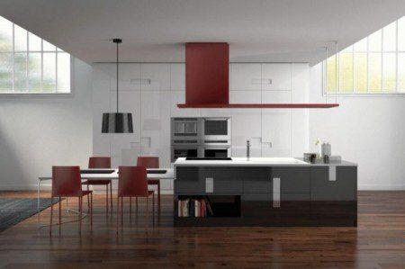 Новый современный дизайн кухни - Карре от Ernestomeda