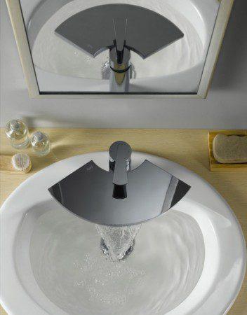 Оригинальные смесители в ванную комнату