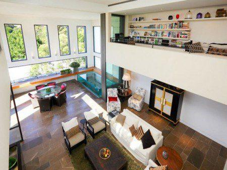 Роскошное жилое пространство подобное оазису