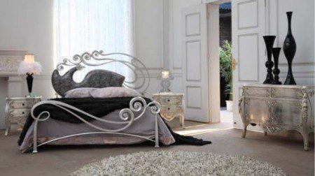 фото металлической кровати дизайн