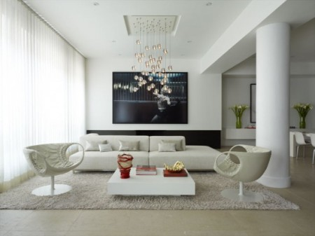 Сказочный и современный дизайн интерьера квартир