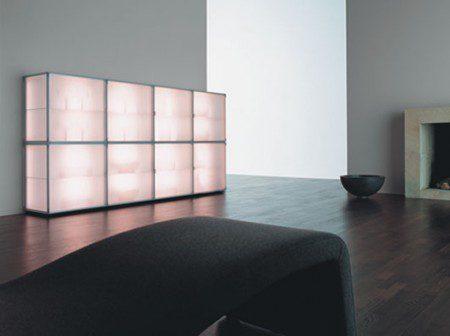 Современные шкафы с освещением