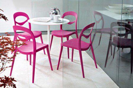 кухонные стулья из метала