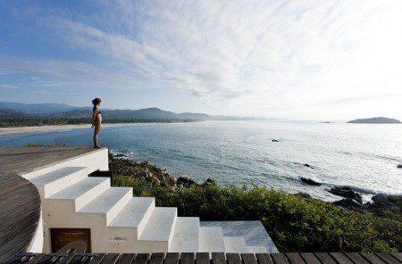 Дом с видом на море фото
