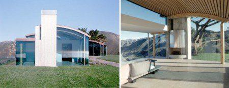современный дом с прекрасными видами