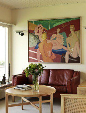 современный дизайн интерьера в пляжном доме