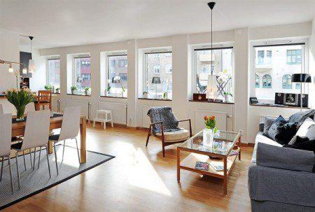 Эстетика и функциональность в красивой квартире
