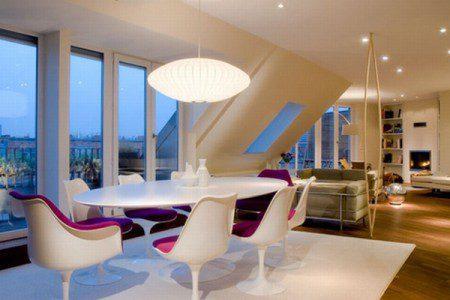 Дизайн квартиры на чердаке