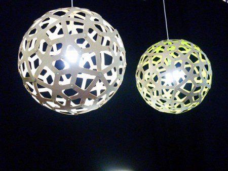 круглый светильник дизайн фото