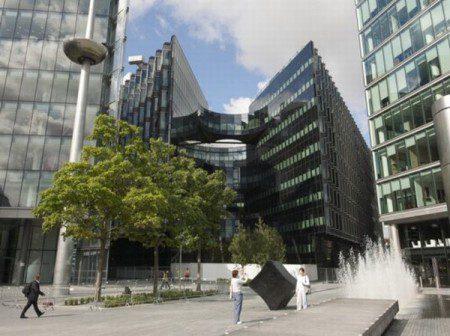 дизайн офисного здания фото