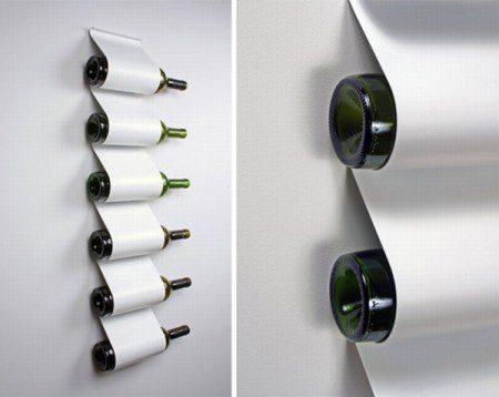 Стильная стойка для вина