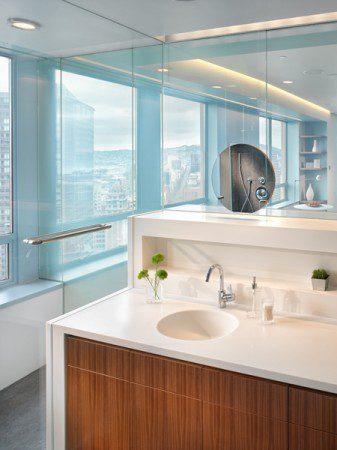фото дизайн интерьера ванной комнаты в дуплексе
