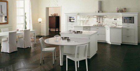 классический дизайн интерьера кухни фото