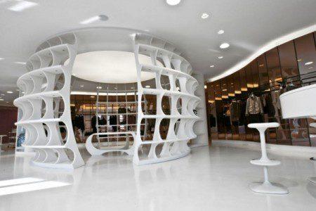 Выставочный зал ALV на неделе дизайна в Милане