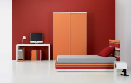 дизайн интерьера подростковой комнаты