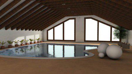 дизайн бассейнов фото