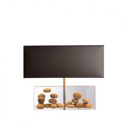необычная акриловая лампа