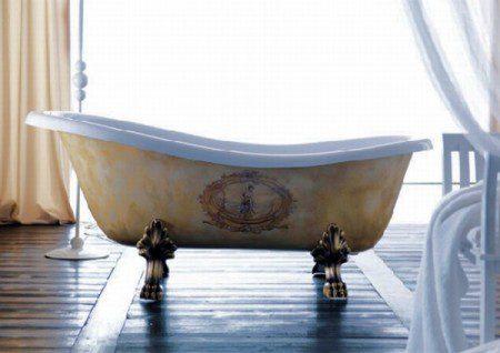 Декоративные ванны от Anka Elisabetta Luceri