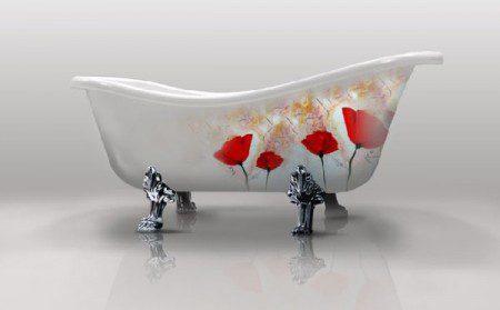 фото необычной ванны