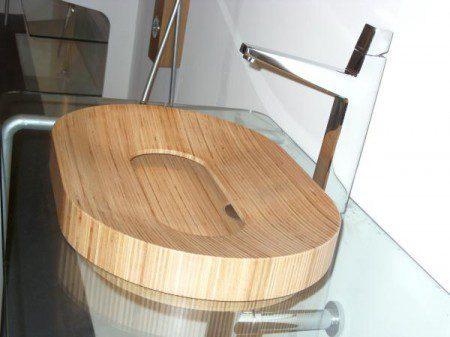 деревянный умывальник фото