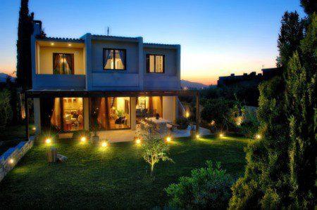 Дом в Греческой сельской местности от Tectus Design